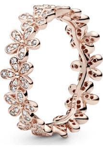 Anel Pandora Rose Delicadas Bem-Me-Quer