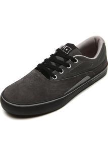 Tênis Couro Dc Shoes Sultan S Imp Cinza
