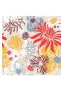 Papel De Parede Autocolante Rolo 0,58 X 5M - Floral 210121