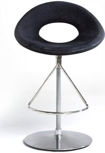 Cadeira Bar Giratória Heros Estofada Fibra De Vidro Design By Studio Clássica