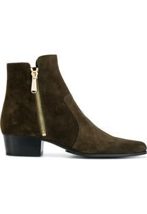 Balmain Ankle Boot 'Anthos' - Green