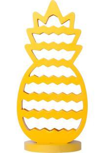 Abajur Abacaxi Amarelo
