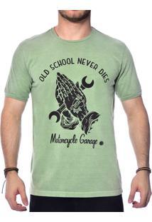 Camiseta Sergio K. Old School Verde