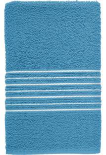 Toalha De Banho Felpuda 100% Algodão 65X120 Escala - Azul