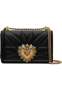 Dolce & Gabbana Devotion Shoulder Bag - Preto