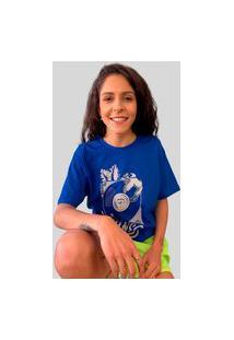 Camiseta Ventura Laziness Azul