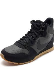 Tênis Nike Md Runner 2 Mid Premium Preto