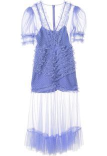 Alice Mccall Vestido Midi Tokyo Skies - Roxo