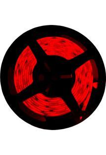 Fita Led Taschibra 2.5W 5M Bivolt Com Fonte Alimentação Vermelha
