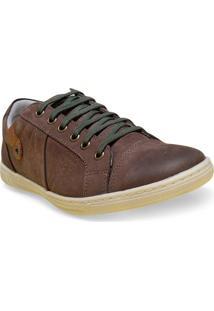 Sapatenis Masc New Confort 16037 Brown
