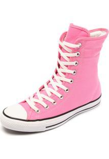 Tênis Converse Chuck Taylor All Star Hi-Rise Rosa