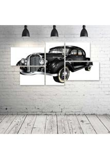 Quadro Decorativo - Retro-Car - Composto De 5 Quadros - Multicolorido - Dafiti