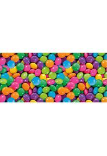 Tapete Transfer Confetes- Rosa & Verde- 90X40Cm-Tapetes Junior