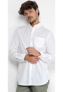 Camisa Lacoste Manga Longa Masculina - Masculino