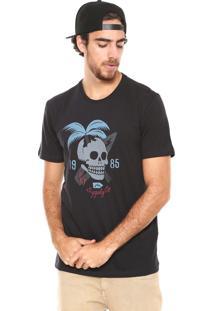 Camiseta Rusty Skull Preta