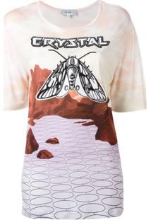 Carven Blusa 'Crystal' - Rosa