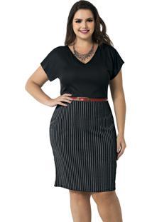 ab43c57ee Vestido Plus Size Pratico feminino