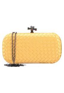 Bauarte - Bolsa Clutch De Tecido Bauarte - Bolsa Clutch De Tecido Amarelo