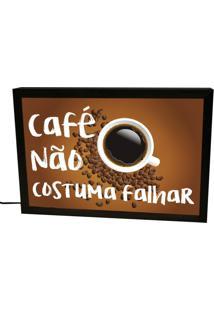 Luminária Prolab Gift Café Não Falha Preta