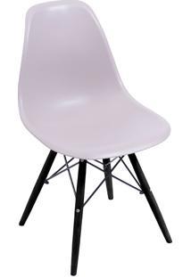 Cadeira Com Base Preta 1102-Or Design - Fendi