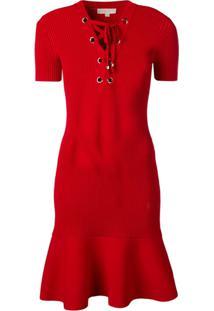 Michael Michael Kors Bodycon Dress - Vermelho