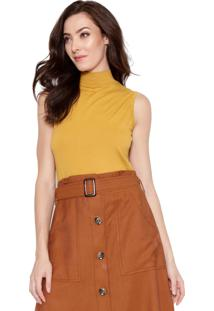 Blusa Lucy In The Sky Cavada Amarelo - Tricae