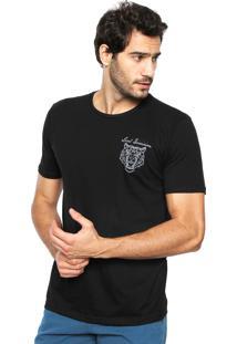 Camiseta Local Reta Preta
