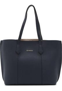 Bolsa Dumond Lisa Azul-Marinho