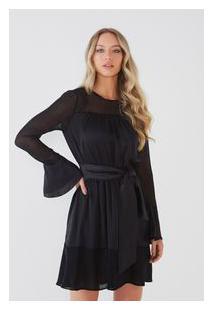 Vestido Pala Transparente