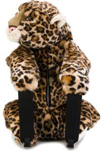 Dolce & Gabbana Mochila De Leopardo - Neutro