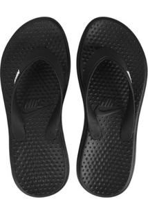 Sandália Nike Solay Thong Masculina - Masculino-Preto+Branco