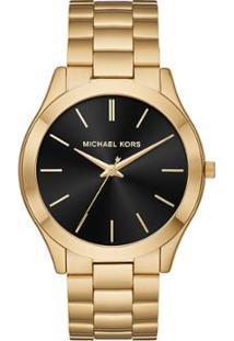 587372a8b60aa Relógio Digital Dourado Michael Kors feminino