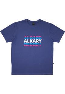 Camiseta Alkary Logotipia Azul