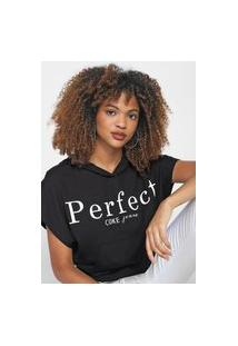 Blusa Coca-Cola Jeans Perfect Preta