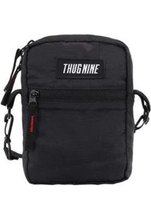 Mini Bolsa Thug Nine Shoulder Bag - Unissex-Preto