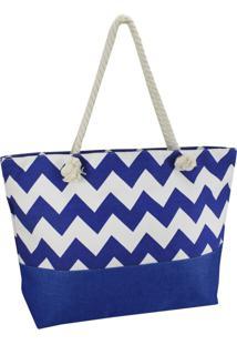 Bolsa De Praia Veráo Jacki Design 19759 Azul - Tricae