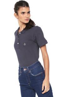 ... Camisa Polo Dudalina Logo Azul-Marinho 89e2c7c35407e