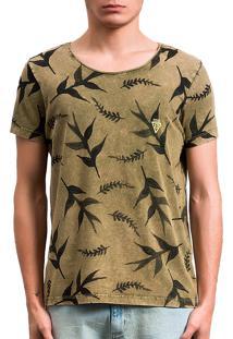 Camiseta Amazon Dupla Face Verde
