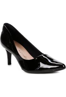 Sapato Scarpin Feminino Crysalis Preto