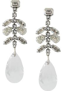 Isabel Marant Peace Glass Earrings - Metálico