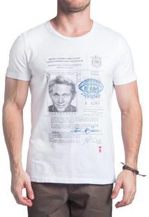 Camiseta Sergio K. Mc Queen Branco