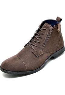 Bota Eco Canyon Broklin Suede Marrom