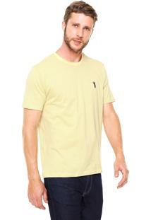 Camiseta Aleatory Poá Amarela