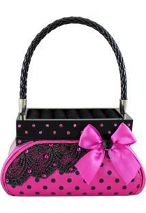 Porta Jóias Formato Bolsa Jacki Design Segredo Meigo Rosa