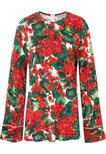 Dolce & Gabbana Blusa Com Estampa 'Portofino' - Verde