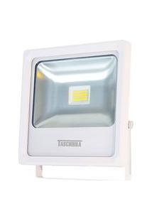 Refletor Taschibra Tr Led 20 Quadrado 20W Autovolt Branco