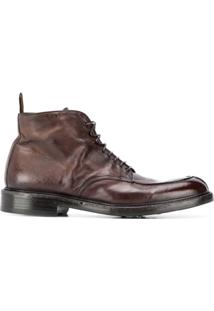 Green George Ankle Boot Com Efeito Desgastado - Marrom