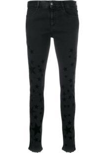 Stella Mccartney Calça Jeans Skinny Com Tachas - Preto