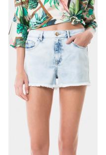 Shorts Miami Acinturado Jeans - Lez A Lez