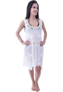 53d84d5ed R$ 69,99. Zattini Saída De Praia Shopping Bali Tule - Feminino-Branco